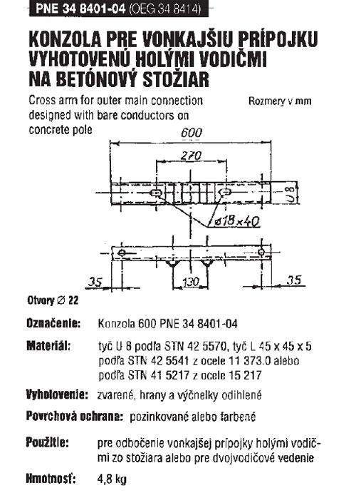 Nn >> Kovel - kovoelektrovýroba - Súčasti vonkajších vedení NN do 1 kV